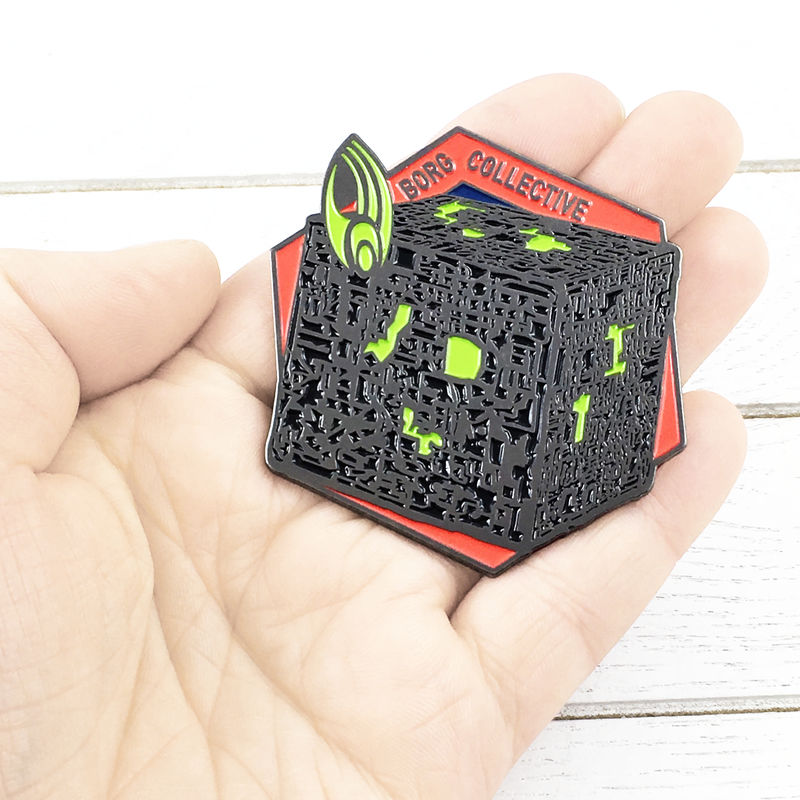 Borg Collective Large Enamel Pin Badge - product images  of