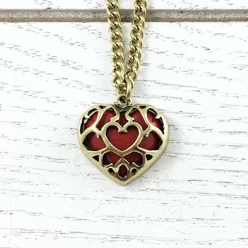 Legend of Zelda | Heart Container Necklace - product images  of