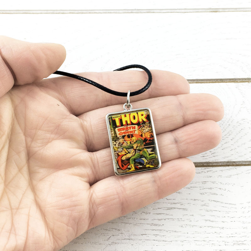 Thor | Comic book cover necklace - product images  of