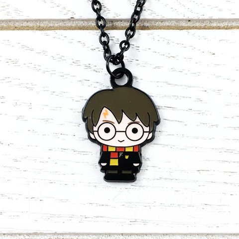 Harry,Potter,Enamel,Necklace,Harry Potter, necklace, character, chibi, cutie, potterhead, enamel, colour, color