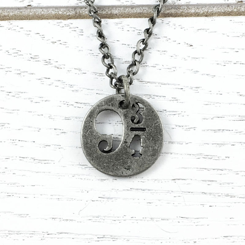 Harry Potter Platform 9-3/4 Pewter Necklace - product images  of