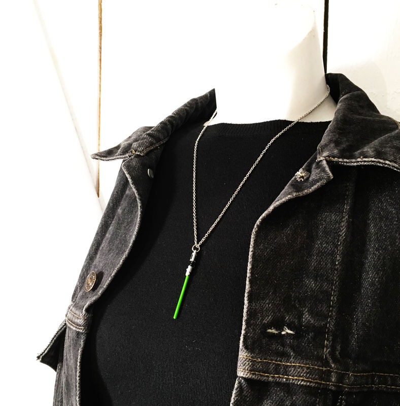Green Lightsaber Necklace - product images  of