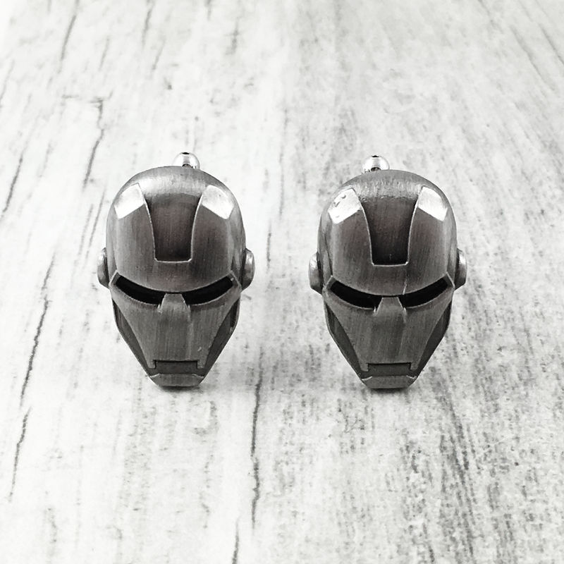 Iron Man Pewter Cuff Links - product images  of