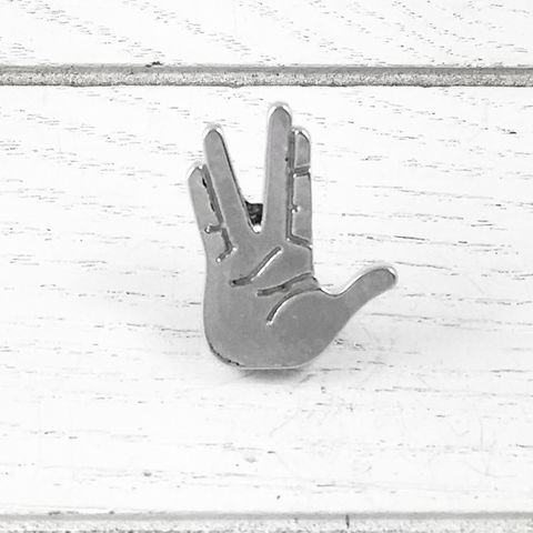 Live,Long,and,Prosper,pin,,hand,gesture,inspired,by,Star,Trek,Spock,Vulcan,live long and prosper pin, lapel pin, tie tack, tie tac, button, star trek, spock, hand gesture, trekkie, trekker, science fiction, mr spock, zachary quinto, leonard nimoy, sci fi, enterprise, vulcan, cscharms, cs charms