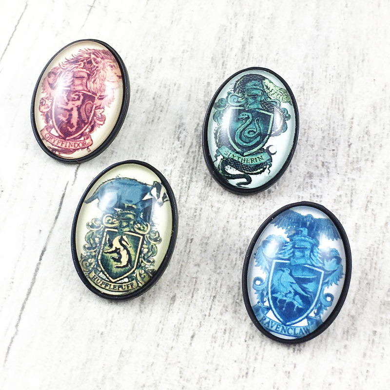 Harry Potter Cameo-Style House Pins - product images  of