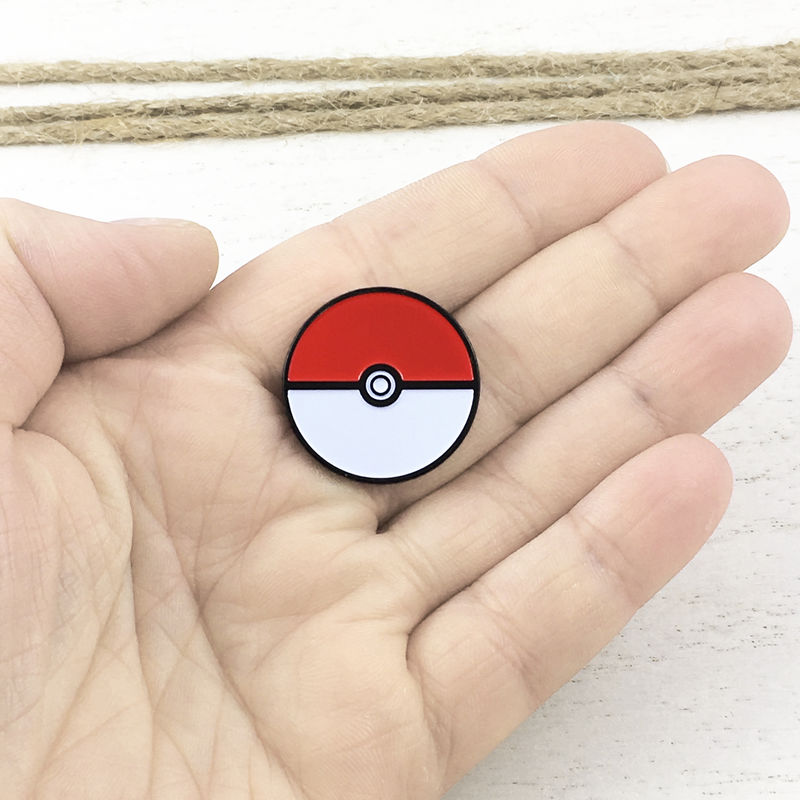 Pokéball Enamel Pin - product images  of