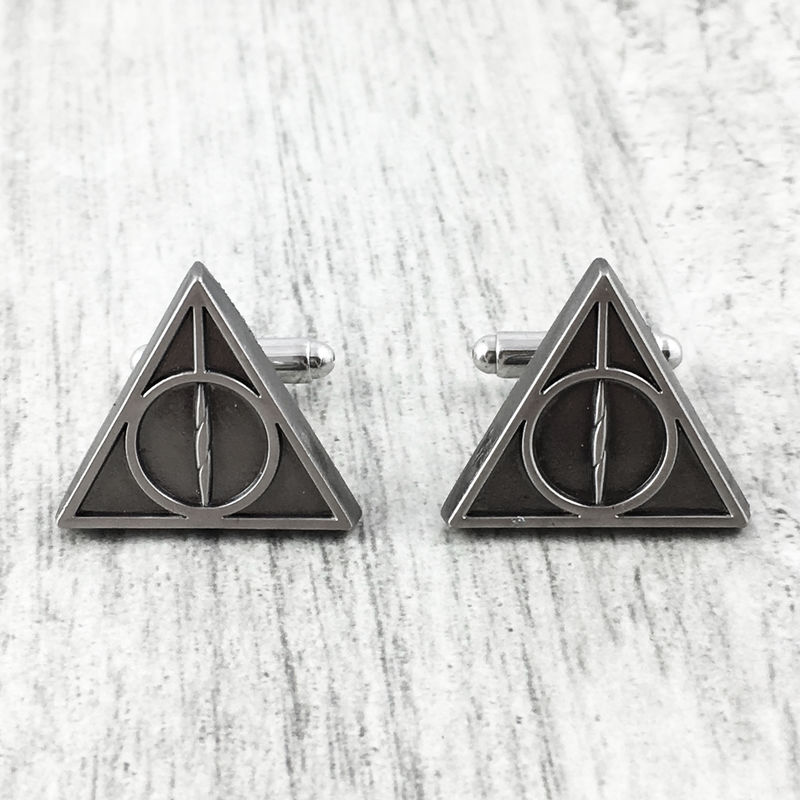 Harry Potter Deathly Hallows Cuff Links - product images  of