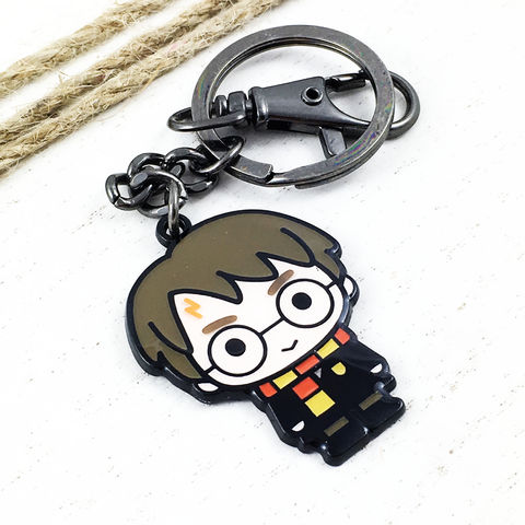 Harry,Potter,Character,Cutie,Keychain,harry potter, keychain, key chain, keyring, key ring, cutie, character, chibi, enamel, colour, potterhead