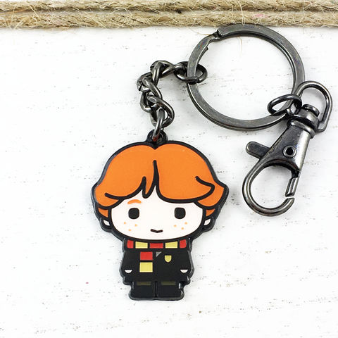 Harry,Potter,Ron,Weasley,Cutie,Keychain,harry potter, Ron Weasley, keychain, key chain, keyring, key ring, cutie, character, chibi, enamel, colour, potterhead