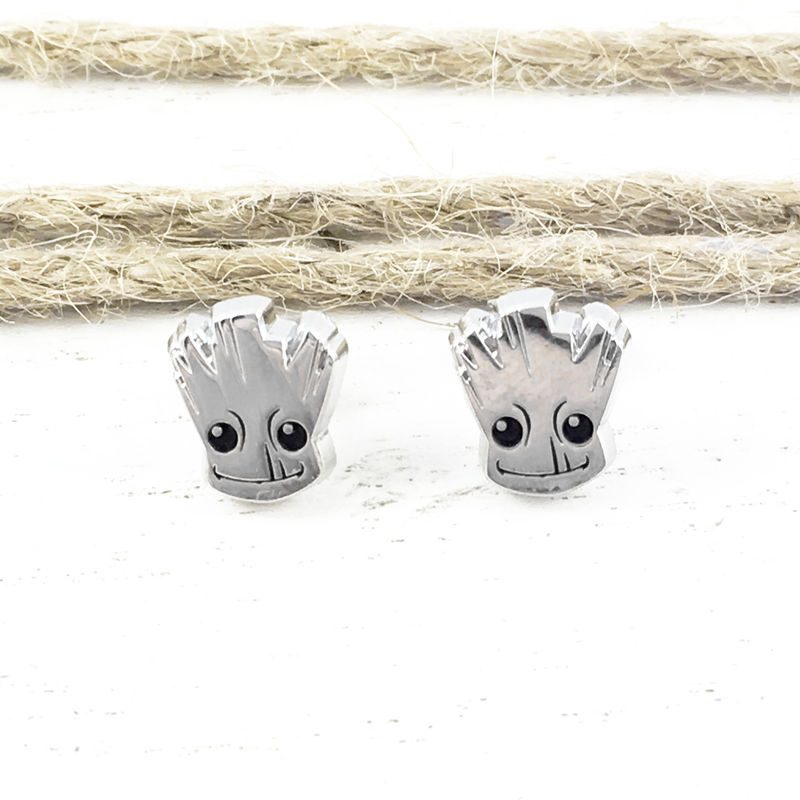 Baby Groot Stud Earrings - product images  of