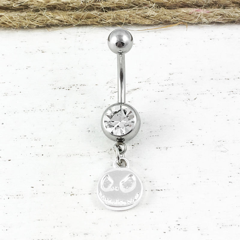 Nightmare Before Christmas Jack Belly Ring - product images