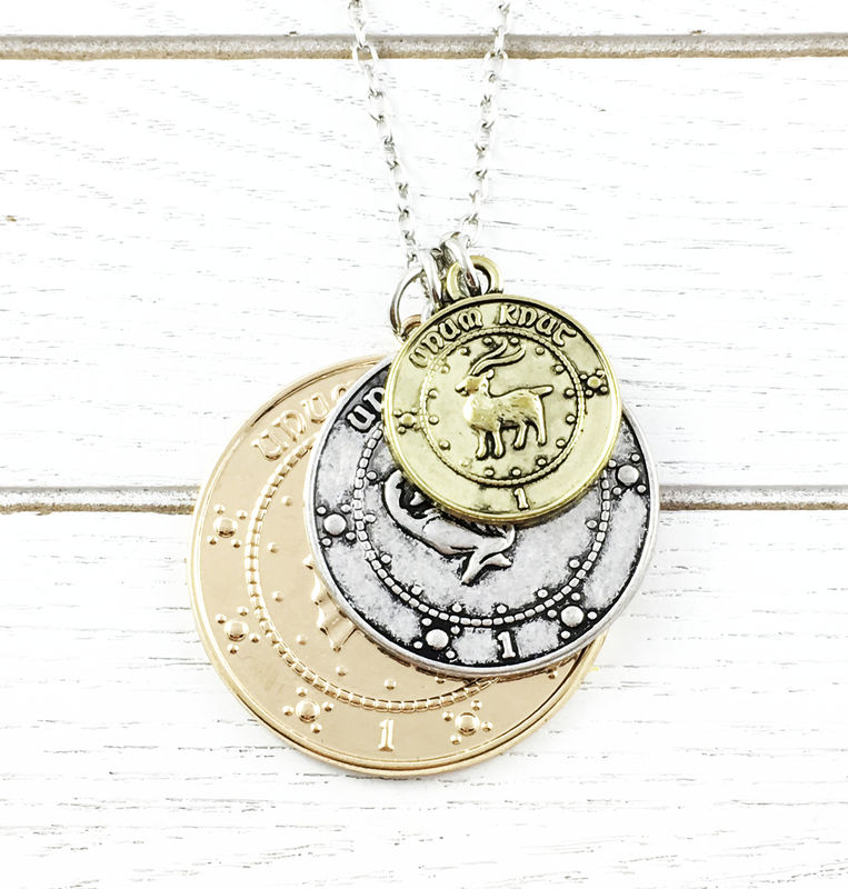 Harry Potter Gringotts Coins Necklace - product images  of