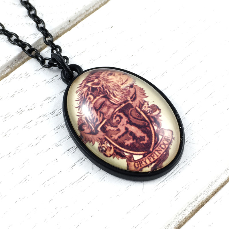 Harry Potter Gryffindor Cameo Necklace - product images  of