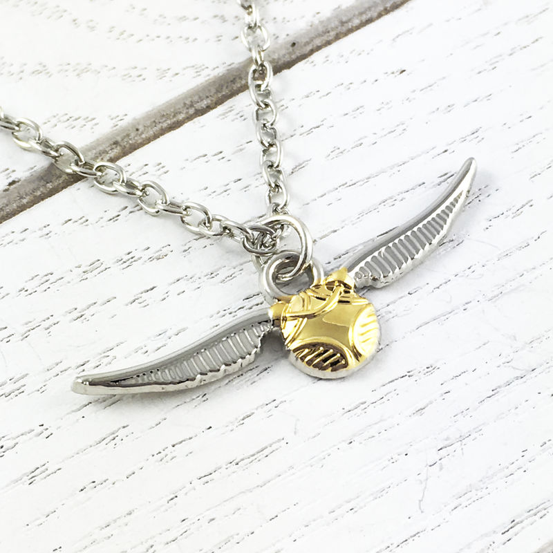 Harry Potter Golden Snitch Necklace - product images  of