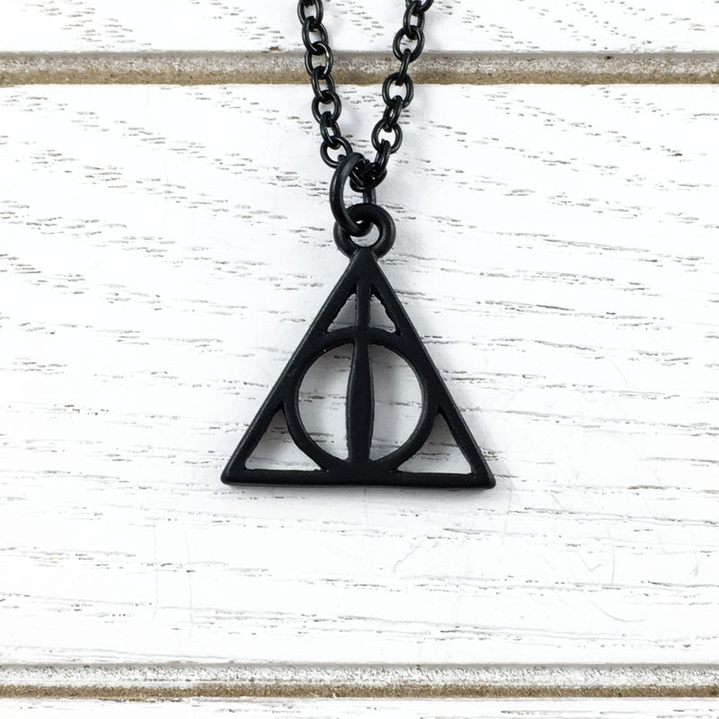 Harry Potter Deathly Hallows Black Necklace - product images  of