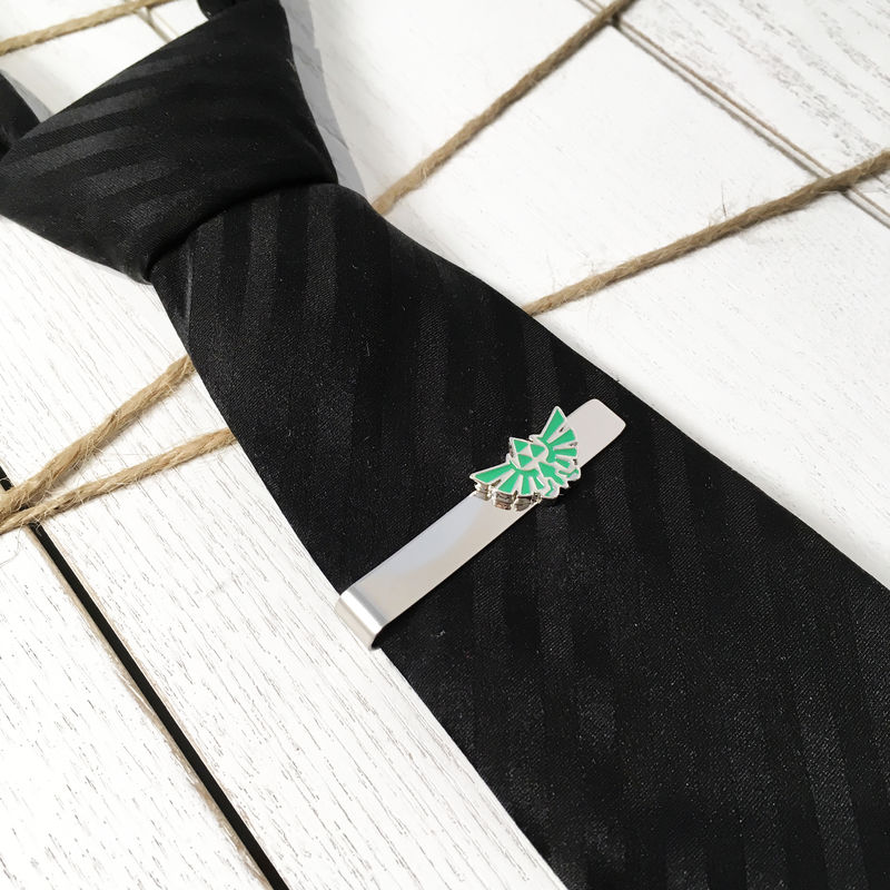 Legend of Zelda Hyrule Tie Clip - product images  of