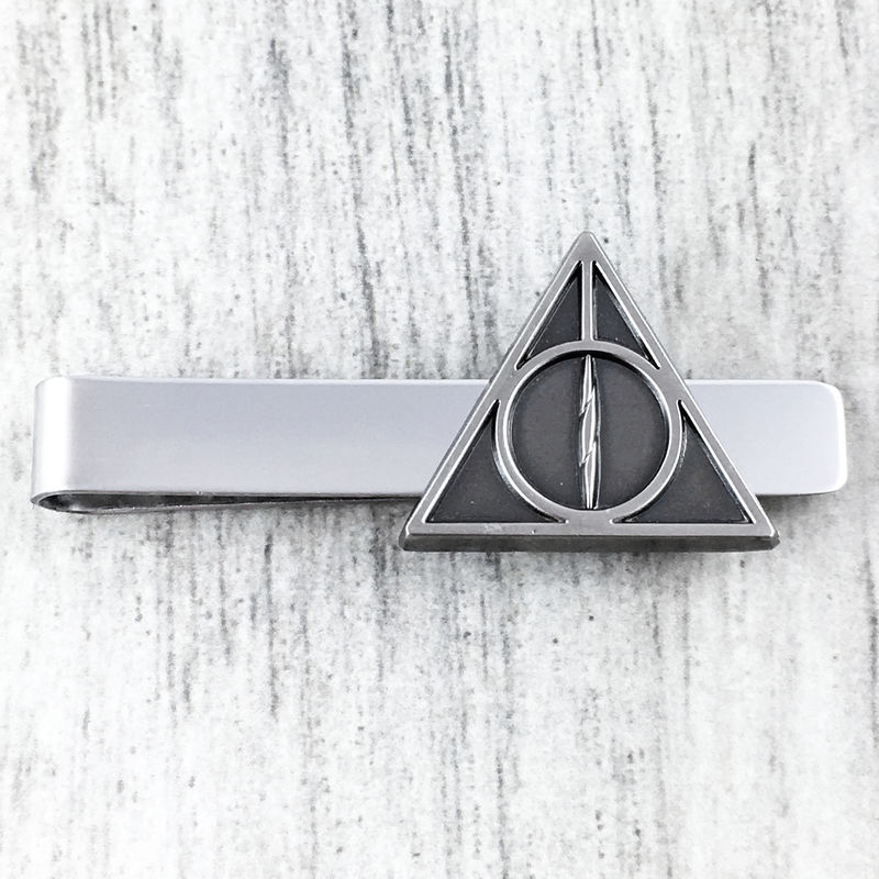 Harry Potter Deathly Hallows Pewter Tie Clip - product images  of