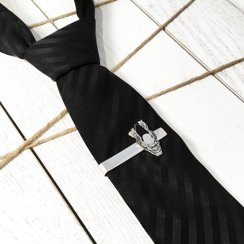 Alien Warrior Tie Clip - product images  of
