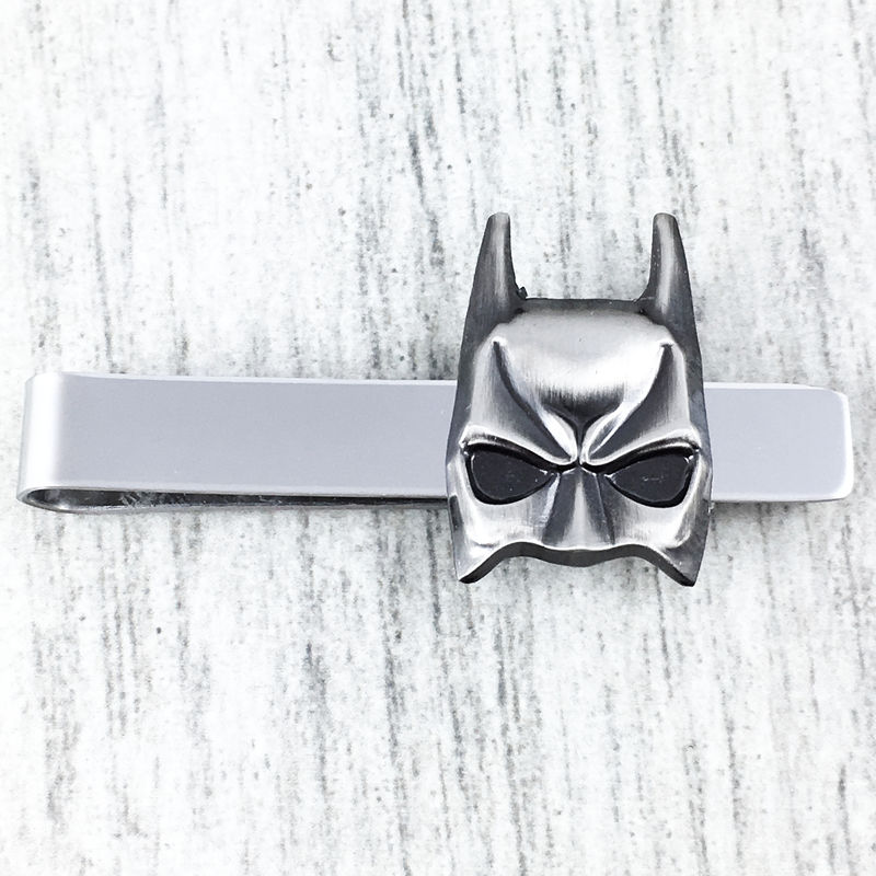 Batman Mask Pewter Tie Clip - product images  of