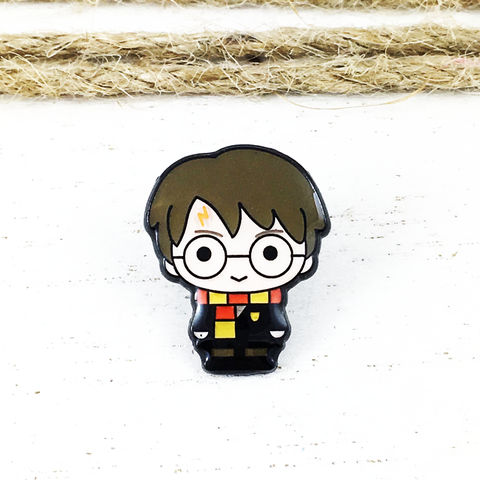 Harry,Potter,Chibi,Enamel,Pin,harry potter, chibi, cutie, enamel pin, lapel pin, tie pin, character, mini