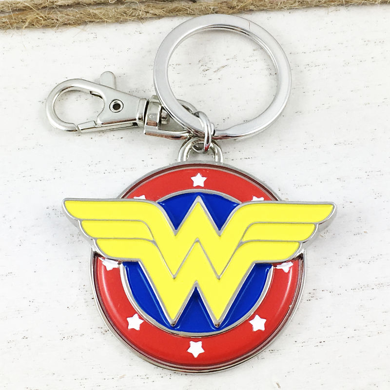 Wonder Woman Colour Keychain - product images  of