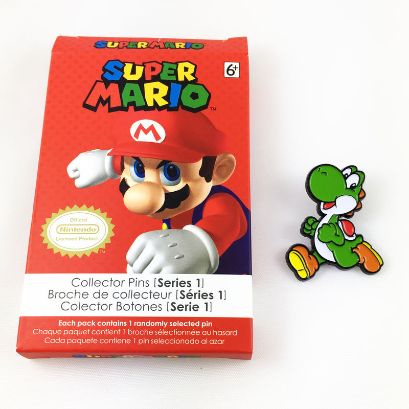 Super Mario Yoshi Enamel Pin - product images  of