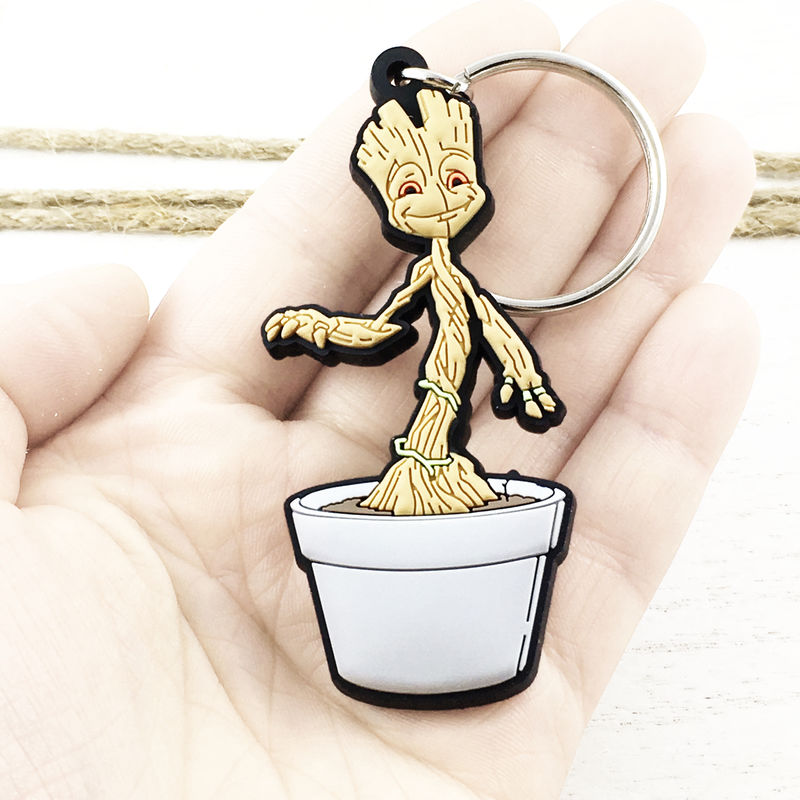 Baby Groot Soft Keychain - product images  of