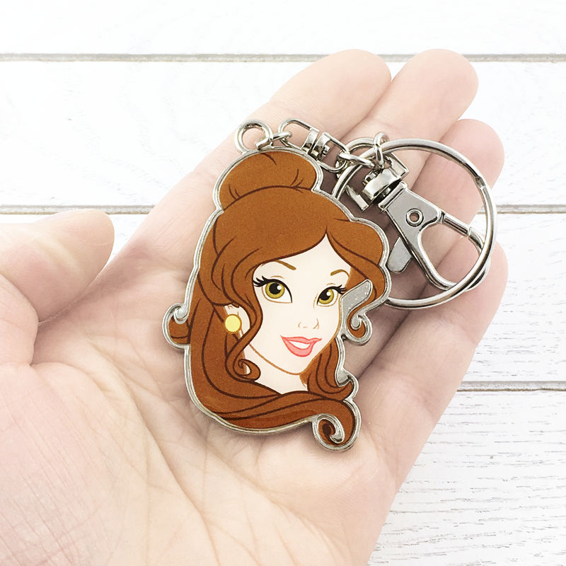 Beauty and the Beast Belle Metal Keychain - product images  of