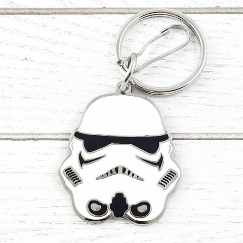 Star,Wars,Stormtrooper,Keychain,stormtrooper, keychain, key chain, star wars, keyring, white, storm trooper, helmet, clone trooper, geeky