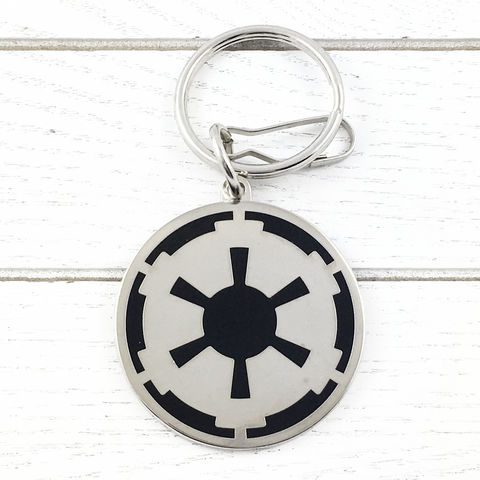 Star,Wars,Empire,Keychain,star wars, keychain, metal, empire, imperial logo, keyring, geeky, mens, dark side
