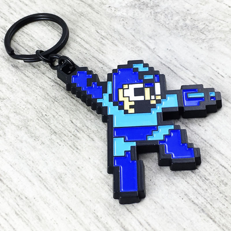 Megaman Pixel Keychain - product images  of