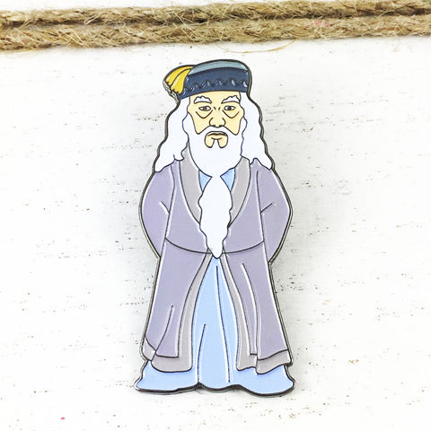 Harry,Potter,Albus,Dumbledore,Enamel,Pin,harry potter, enamel pin, albus dumbledore, professor dumbledore, metal, colour, badge, pin