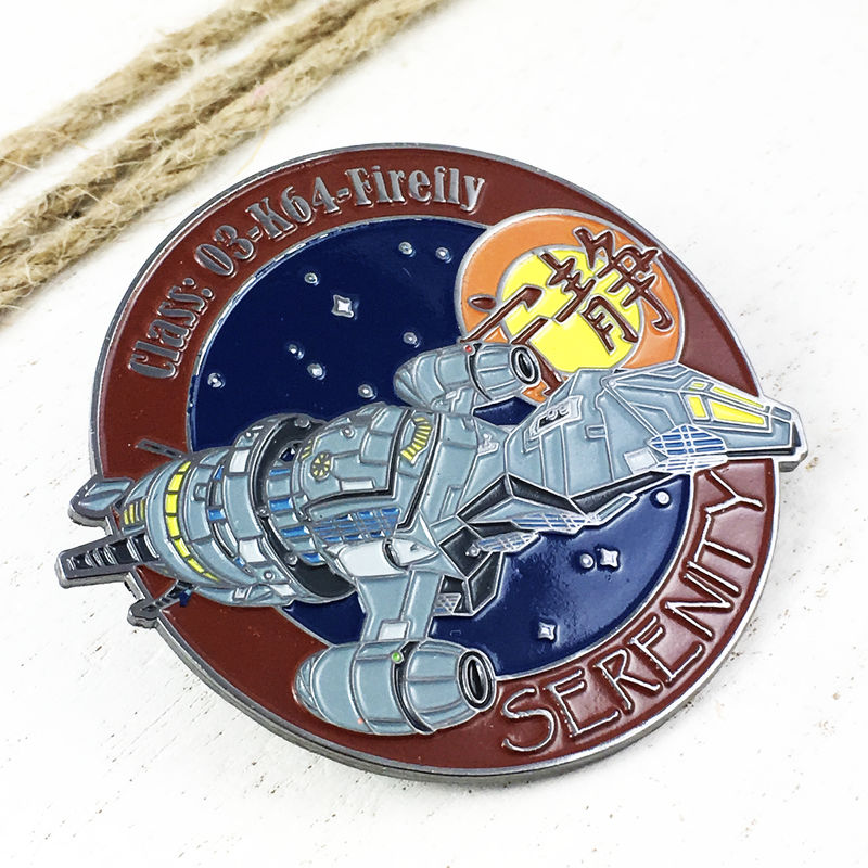 Firefly Serenity Large Enamel Pin Badge - product images  of
