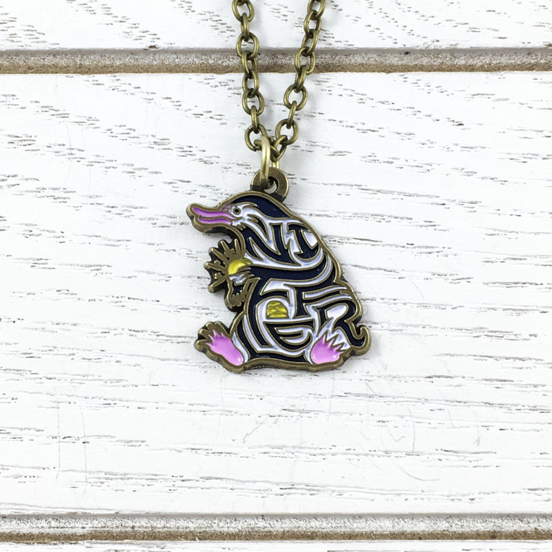 Fantastic Beasts Niffler Nypography Necklace - product images  of