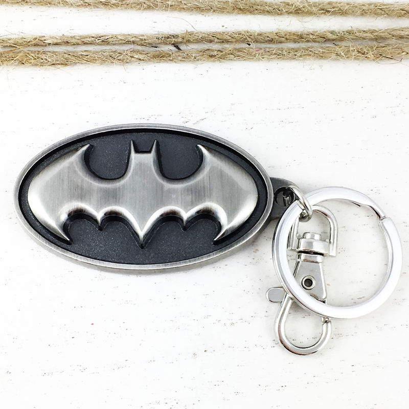 Batman Pewter Keychain - product images  of