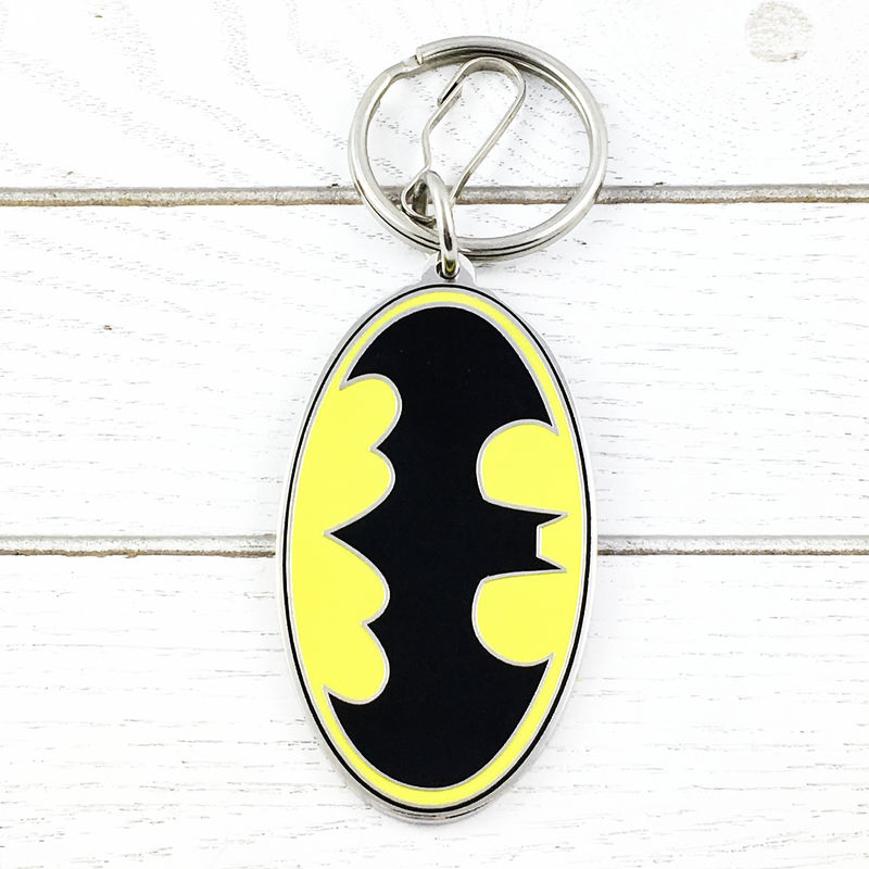 Batman Classic Yellow Keychain - product images  of
