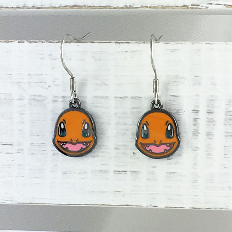 Pokémon Charmander Dangle Earrings - product images  of