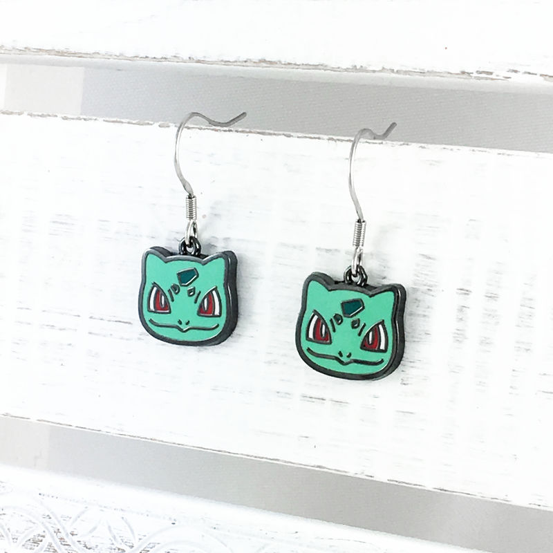 Pokémon Bulbasaur Dangle Earrings - product images  of