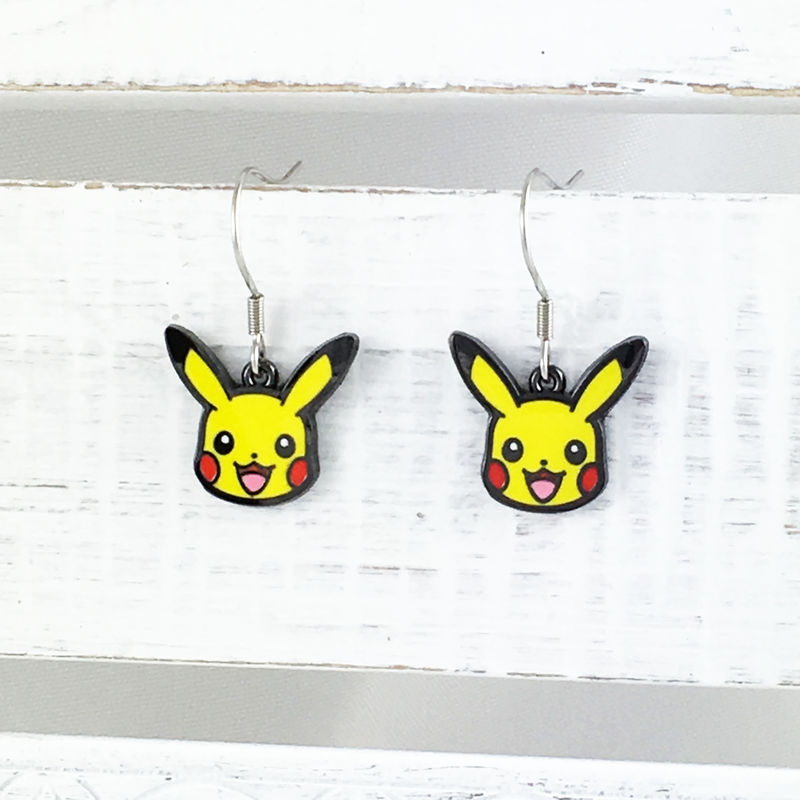 Pokémon Pikachu Dangle Earrings - product images  of