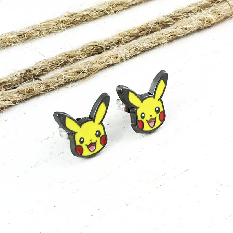 Pikachu Stud Earrings - product images  of