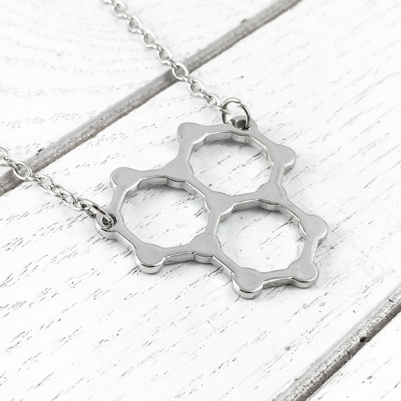Water Molecule Necklace - product images  of