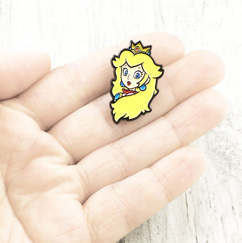 Princess Peach Enamel Pin - product images  of