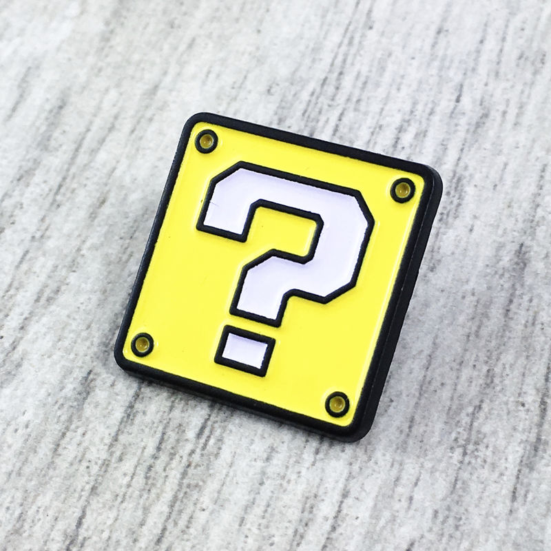Mario Mystery Block Enamel Pin - product images  of
