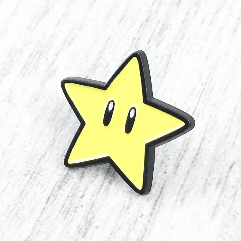 Mario Starman Enamel Pin - product images  of