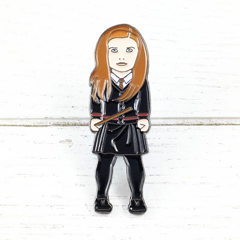 Harry,Potter,Ginny,Weasley,Enamel,Pin,harry potter, enamel pin, ginny weasley, colour, metal, badge, pin, geeky, character, figural, fansets, lootcrate
