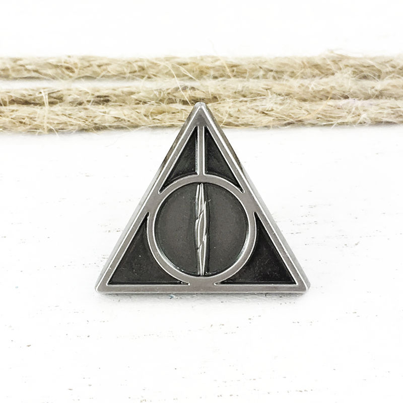 Harry Potter Deathly Hallows Pewter Pin - product images  of