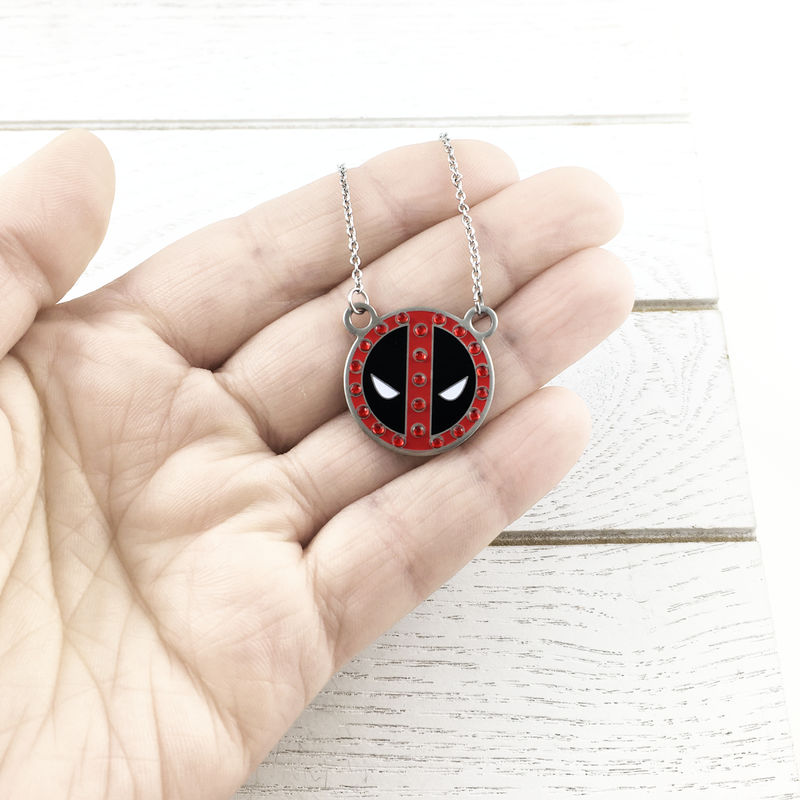 "Deadpool ""Bling"" Necklace - product images  of"
