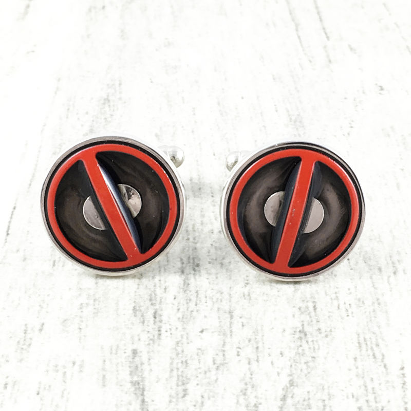 Deadpool Cuff Links - product images  of