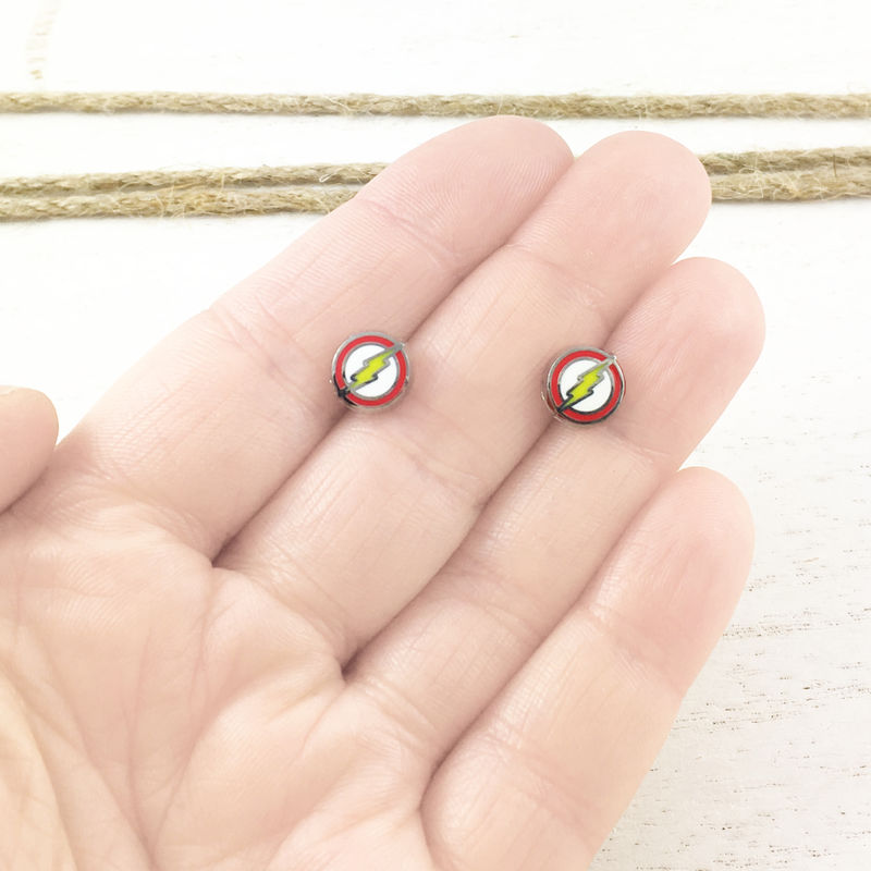 Flash Stud Earrings - product images  of