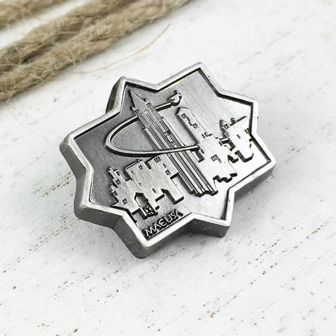 Fantastic,Beasts,Cityscape,Pewter,Pin,fantastic beasts, pin, lapel pin, pewter pin, hat pin, tie tack, tie tac, pendant, new york, 1920s, 20s style, city, cityscape